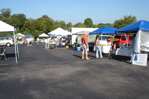 Anderson Township Farmers' Market, west view
