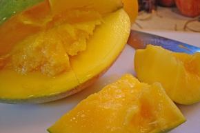 Yummy mangoes.