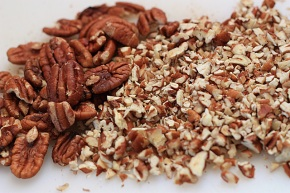 Pecans add a lovely flavor
