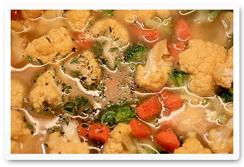 California Medley Cheddar Soup