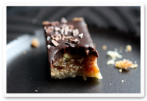 chocolate pecan caramel tart