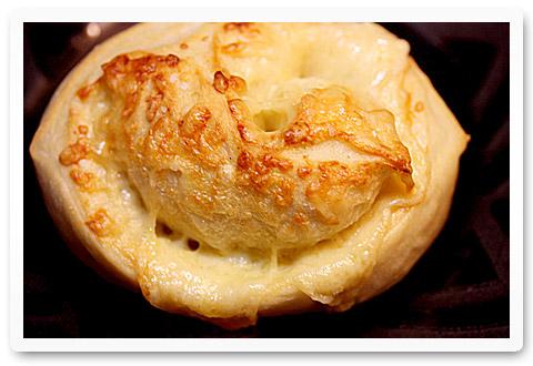 crusty cheese-stuffed rolls
