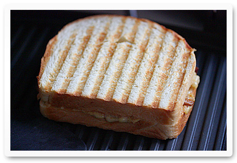 Grilled Cheese with Onions