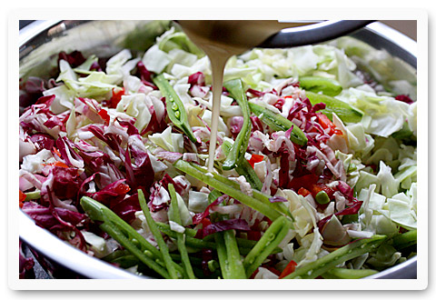 Sugar Snap Slaw