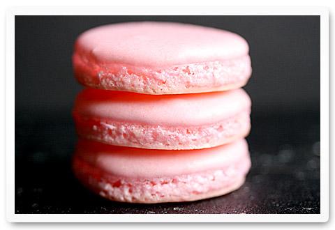 Cherry Blossom Macarons