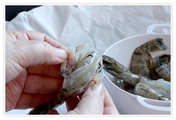 How to Peel and Devein Shrimp | SoupAddict.com