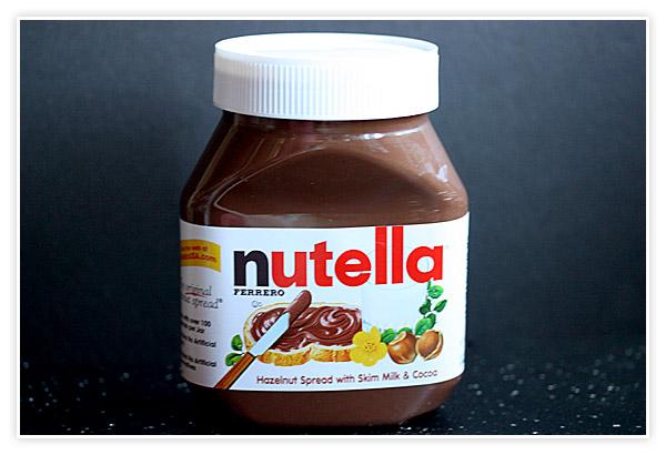 Jar of Nutella