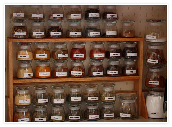 spice jar rack plans